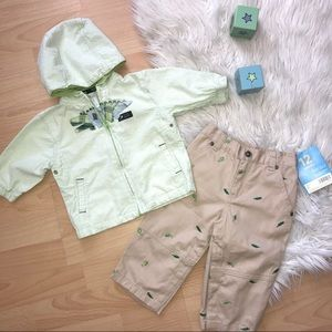 Carters Alligator Outfit